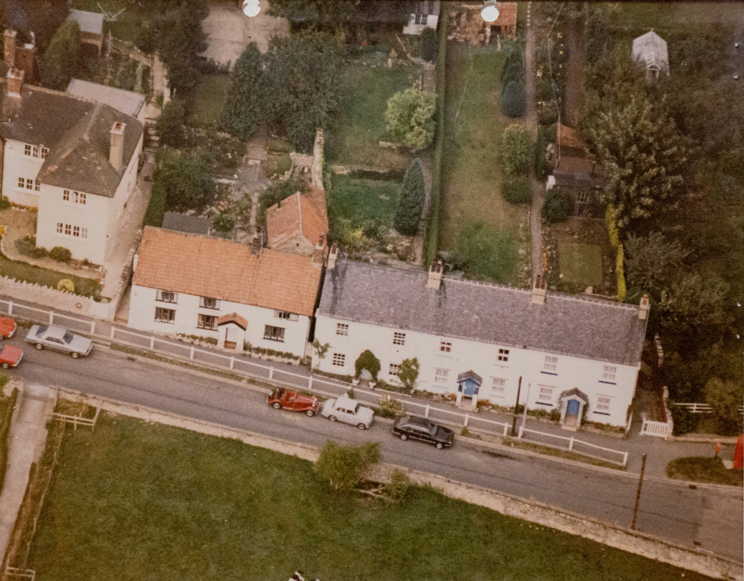 Ariel photo of Main street, Walton