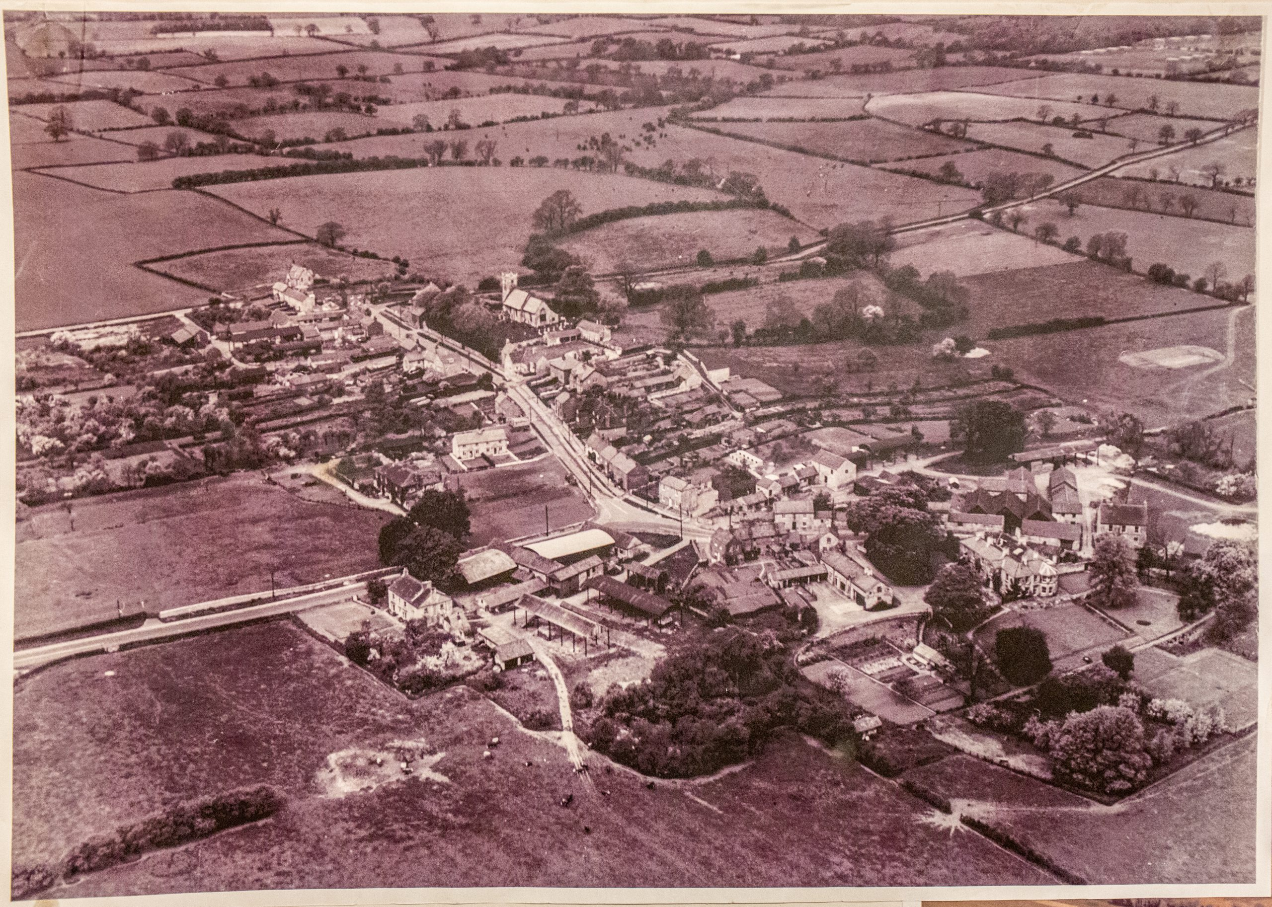 Ariel photo of Walton