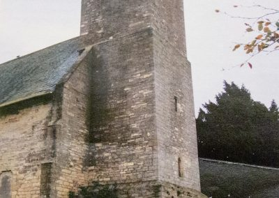 Photo of the bell tower of St Peters church, Walton